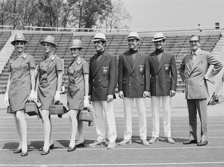 Фото №8 - 10 самых удачных примеров олимпийской формы из истории летних Олимпиад