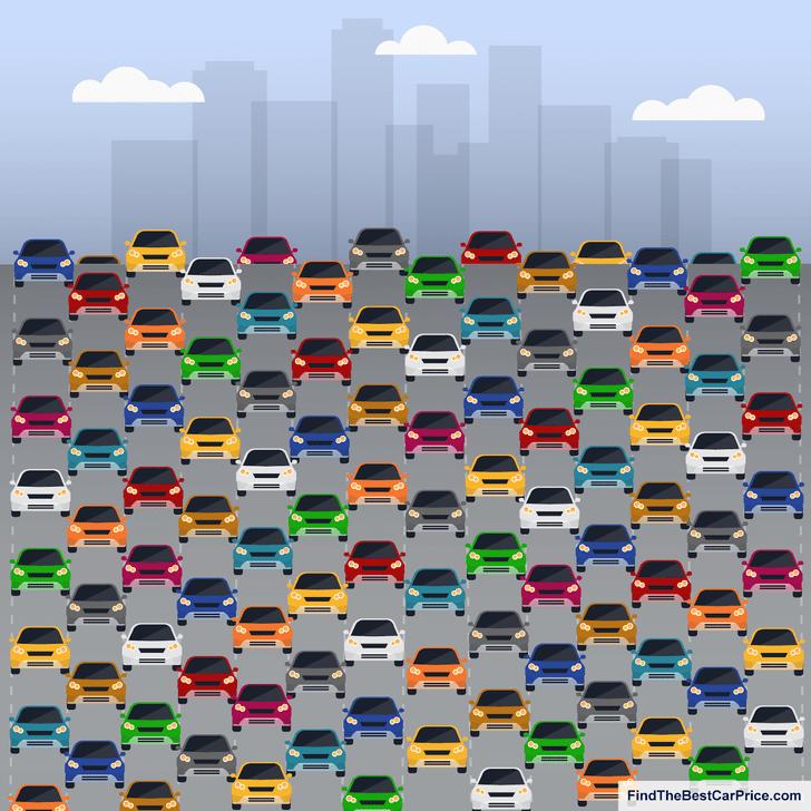 Фото №1 - Тест только для внимательных автолюбителей: найди машину без бокового зеркала