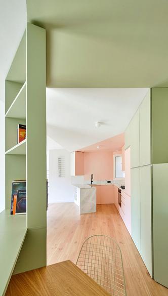 Фото №3 - Квартира без дверей в Барселоне