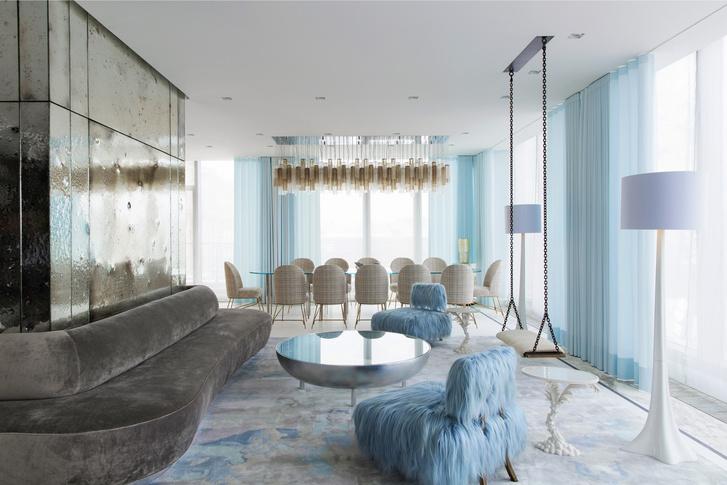 Фото №3 - Самые красивые комнаты за 20 лет: гостиные