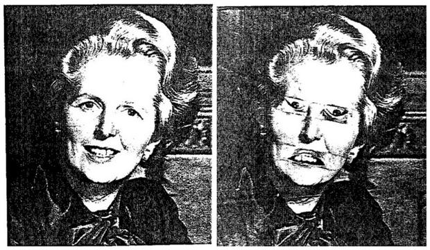Фото №10 - Как работает классическая оптическая иллюзия, получившая название «Эффект Тэтчер»