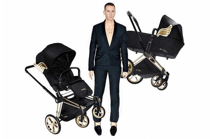 Фото №1 - Звёздные мамы выбирают модные коляски