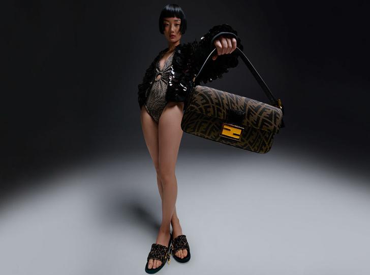 Фото №1 - В объективе: как выглядит новая коллаборация Fendi с художницей Сарой Коулман