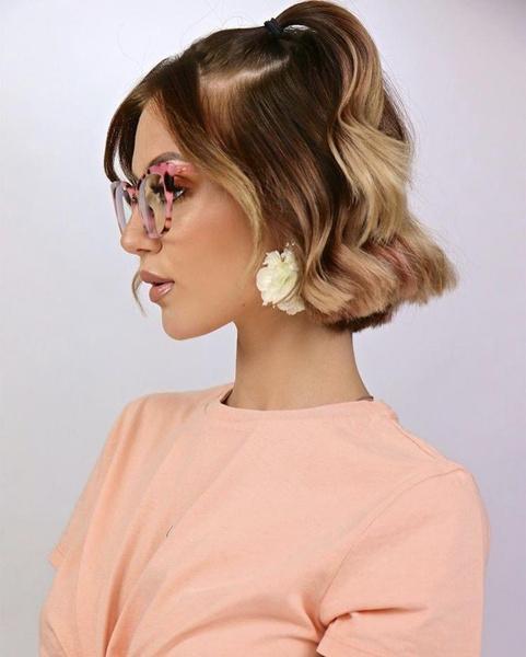 Фото №2 - Окрашивание для коротких волос: 10 идей