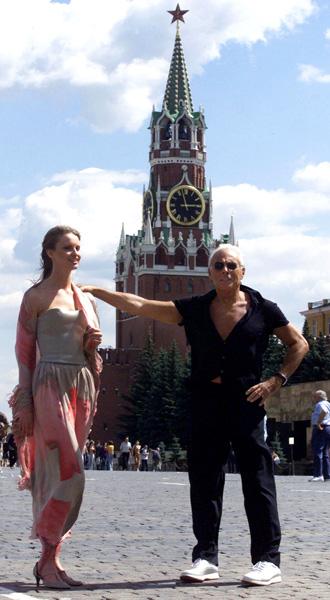 Армани в Москве