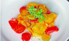 Тортелли с картофелем, шпинатом и маскарпоне от Жанлуки Канески и Орнеллы Пассаванти
