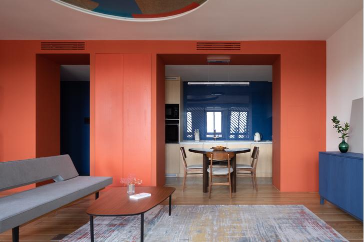 Фото №2 - Яркая квартира 70 м² для молодой пары в Москве
