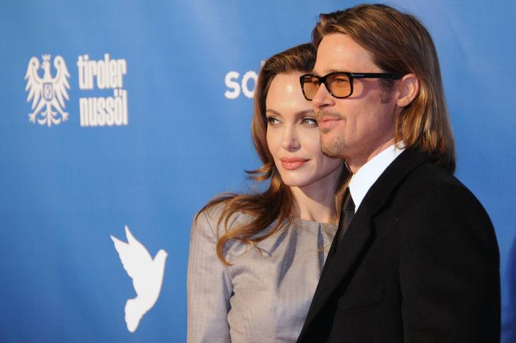 Анджелина Джоли и Брэд Питт: фото