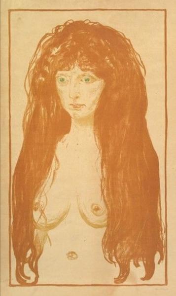Фото №6 - «Женщина в ее тотальной изменчивости — это загадка для мужчины»: история художника Эдварда Мунка, который так и не встретил свою единственную