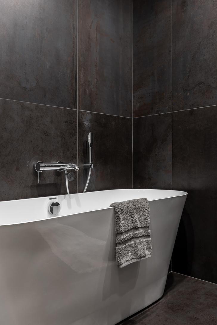 Фото №13 - Серый + горчица: уютная квартира 108 м² в Самаре