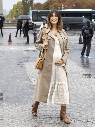 Фото №2 - Как одеваться стильно во время беременности: 9 советов для будущих мам