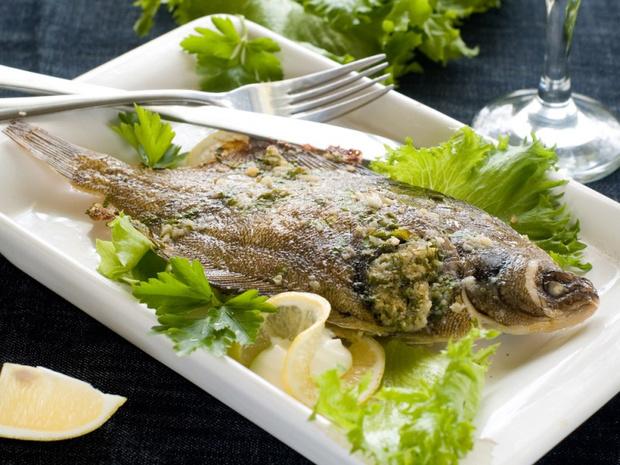 сколько минут держать рыбу в духовке