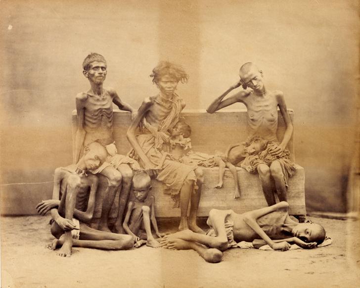 Фото №6 - Мадрасский мор: история Великого голода в Индии 1876–1878 годов в фотографиях