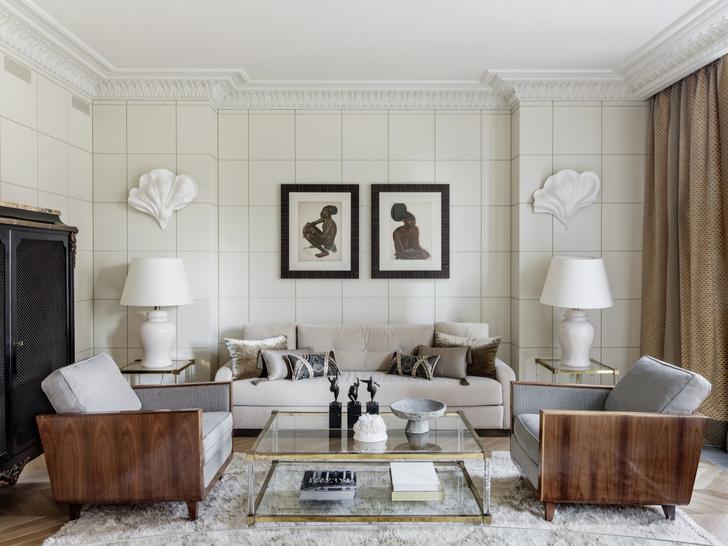 Фото №14 - Самые красивые комнаты за 20 лет: гостиные