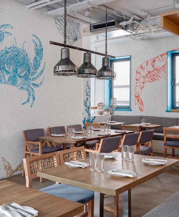 Фото №4 - Ресторан «Морская» в Москве
