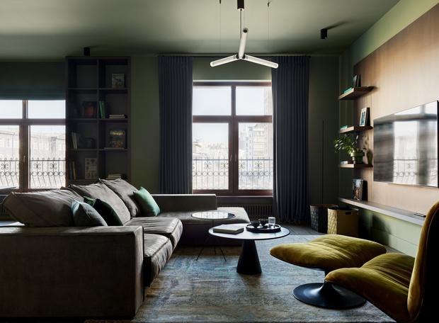 Фото №7 - Квартира 140 м² на Плющихе по проекту Tatiana Alenina design bureau