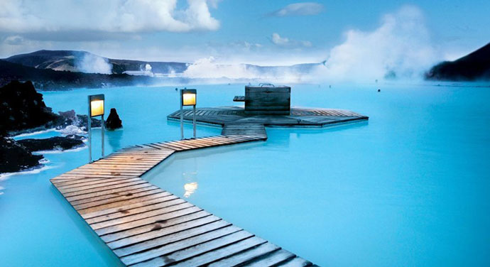 Blue Lagoon, Исландия