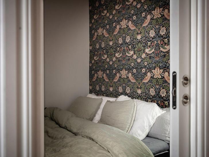 Фото №4 - Уютная скандинавская квартира с микро-спальней в Гетеборге