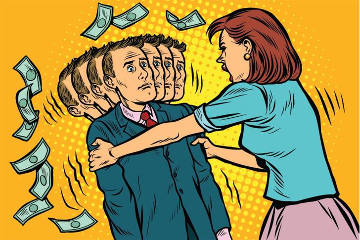 Фото №1 - Финансовый кризис? Как вместе с работой не потерять еще и девушку