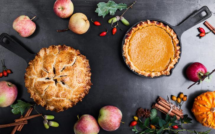 Фото №1 - Классный рецепт пирога из яблок, который можно приготовить прямо сейчас