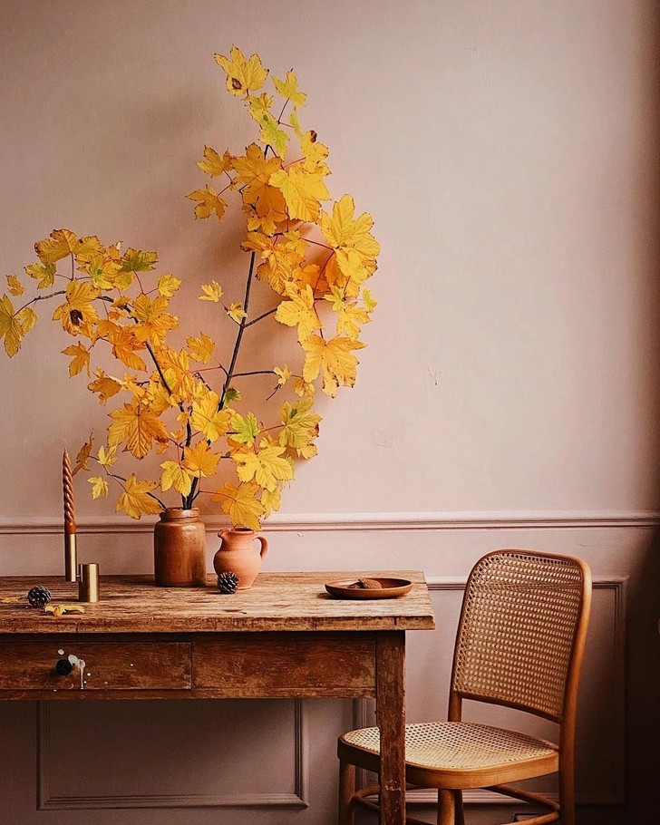 Фото №1 - Осеннее настроение в доме: примеры из реальных интерьеров