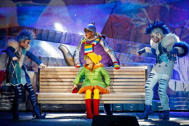 Фото №1 - Новогоднее представление Детского радио «Веснушка, Кипятоша и Мышиный король»
