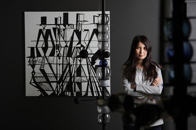 Фото №1 - Выставка якутской художницы пройдет в Москве