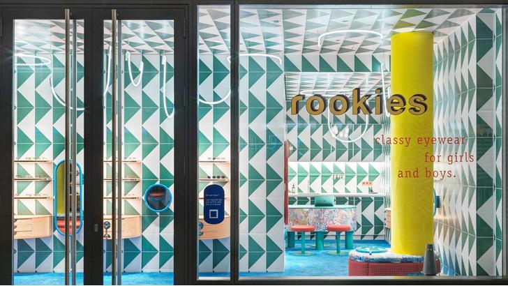 Фото №1 - Яркий магазин детской оптики Rookies в Мюнхене