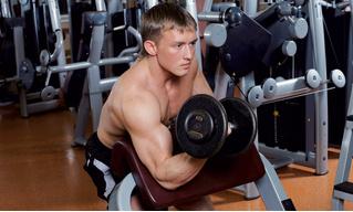 Твои трехлитровые мышцы. Тренинг бицепсов со спецэффектами