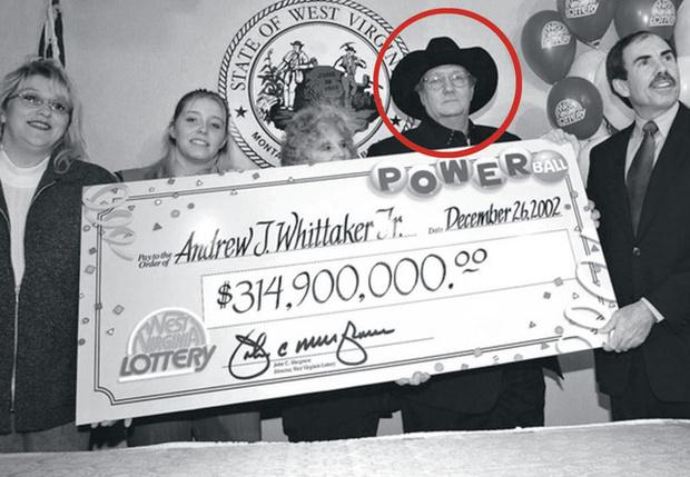 Фото №1 - Как крупнейший джекпот в истории сделал несчастным случайного победителя лотереи