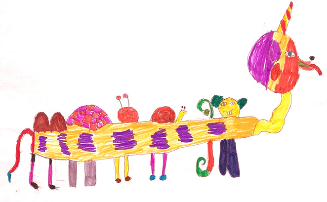 Фото №1 - Ищем тайный смысл: психолог— о том, что скрывают детские рисунки