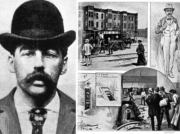 Фото №1 - Доктор Генри Холмс и его «Замок убийств»: жуткая история первого маньяка Америки