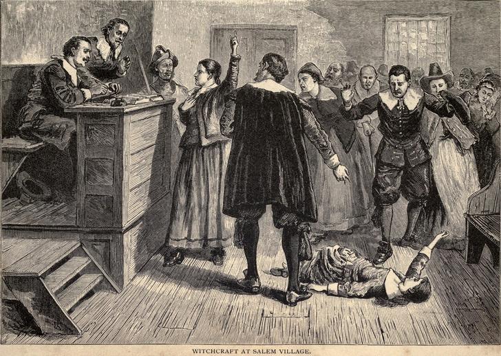 Фото №1 - Процесс над салемскими ведьмами: 150 обвиненных, 19 повешенных