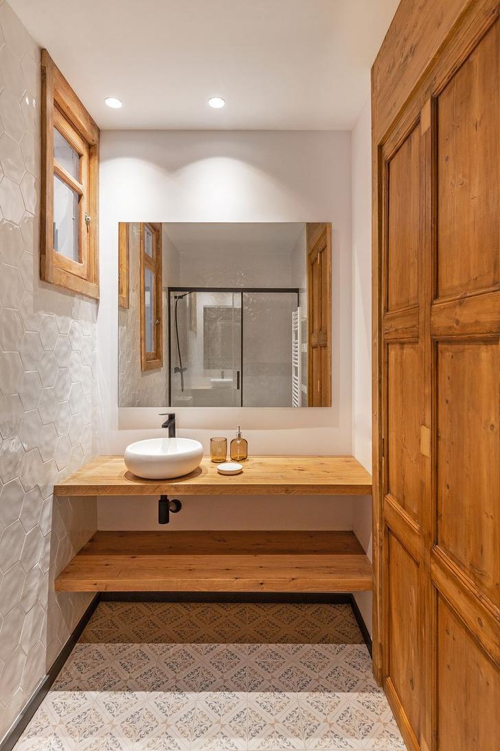 Фото №8 - Квартира со сводчатым потолком в Барселоне