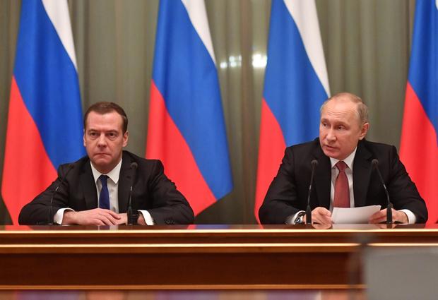 Фото №1 - Политолог: Медведев может стать следующим президентом России при поддержке жены
