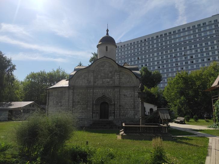 Фото №1 - Церковь Трифона в Напрудном и еще 4 древних храма Москвы за пределами Садового