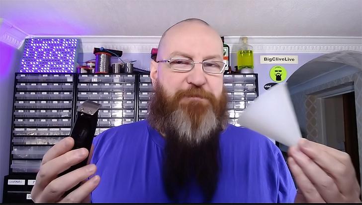Фото №1 - Стильное бесплатное бритье для ленивых— через воронку (два видео)