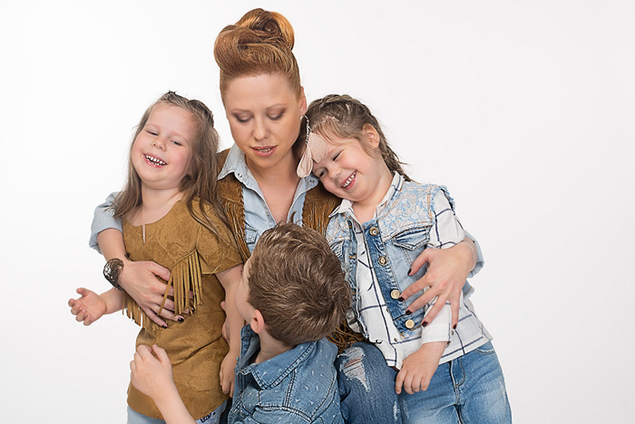 Фото №4 - Певица Юта: «Меня спасли мои дети»