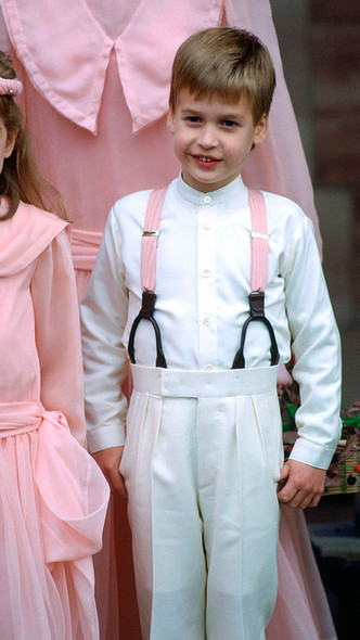 Фото №12 - Самые важные гости: маленькие Виндзоры на королевских свадьбах