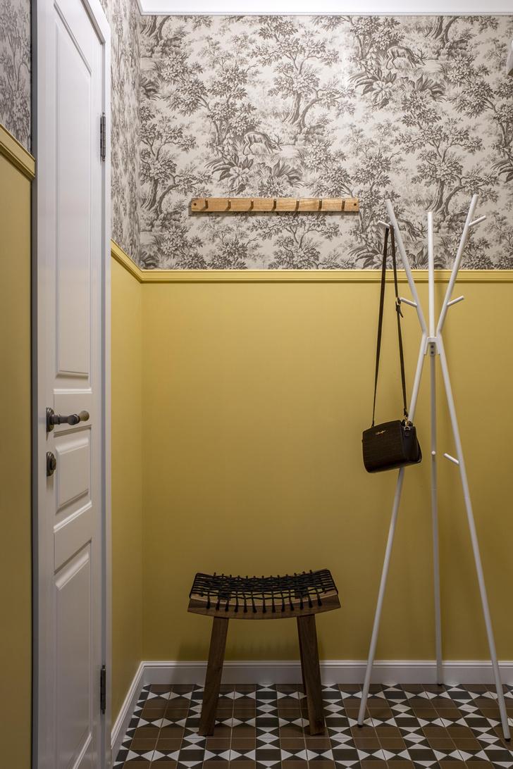 Фото №3 - Двухкомнатная квартира 37 м² с кухней в коридоре