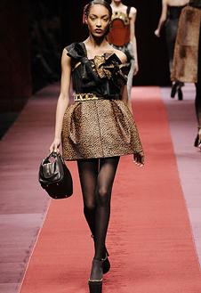 Фото №10 - Показ D&G на Неделе Моды в Милане