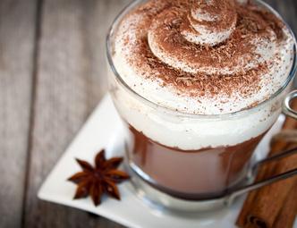 Сладкий кофе, кофе с белым шоколадом, кофе «Встреча»