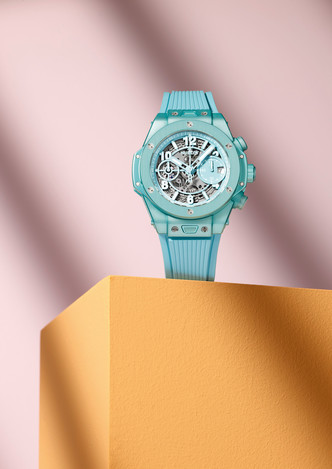 Фото №2 - Морская гладь: как выглядят новые часы Big Bang Unico Summer