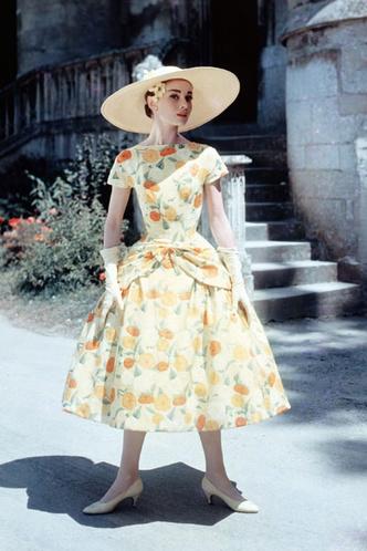 Одри Хепберн, 1955 год