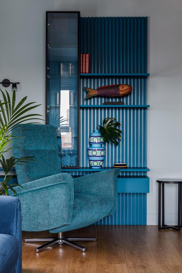 Фото №5 - Всплеск цвета: яркая квартира 81,6 м²