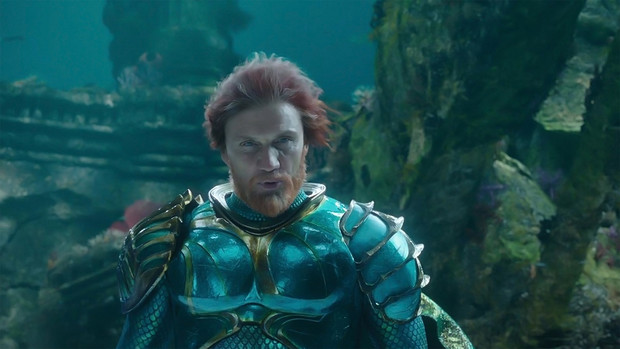 Лундгрен играет подводного царя Нерея в «Аквамене». Дольф изучил ремесло водолаза, пока служил в армии