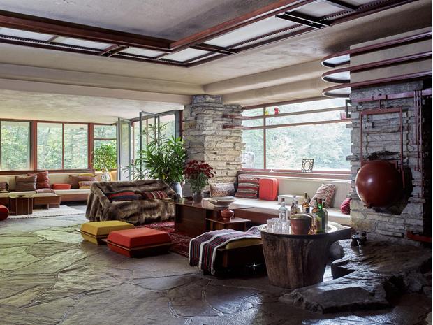 Фото №4 - 120 лет истории американского дизайна в книге The Iconic American House