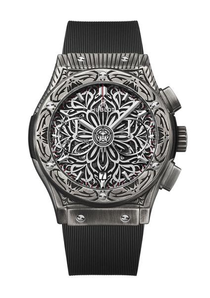 Фото №3 - Арт-объект на запястье: Hublot совместно с Шепардом Фейривыпустил самые символичные часы