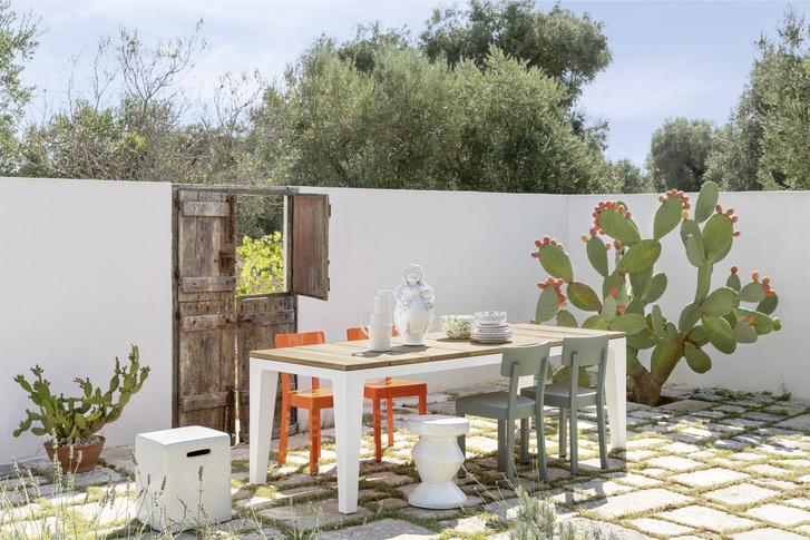 Фото №7 - Завтрак на траве: летняя кухня и столовая
