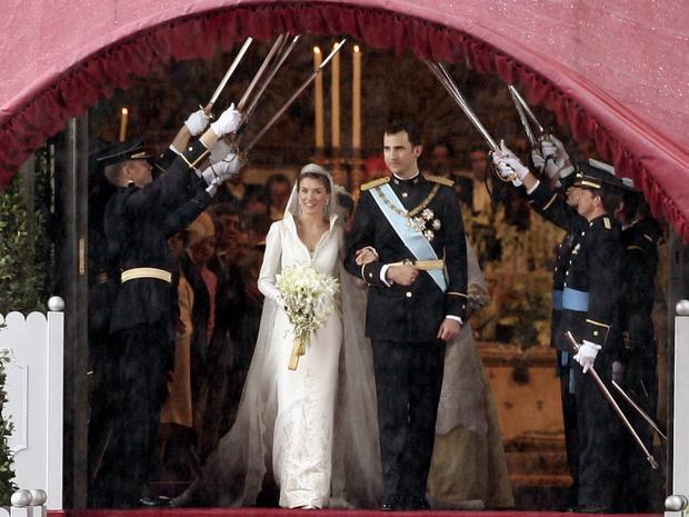 Фото №6 - Какой была свадьба короля Филиппа и королевы Летиции: история в фотографиях